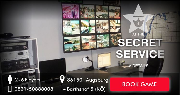 Escape Game Augsburg - the secret service