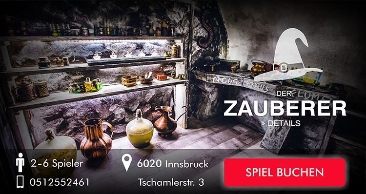 Escape Game Innsbruck: Der Zauberer
