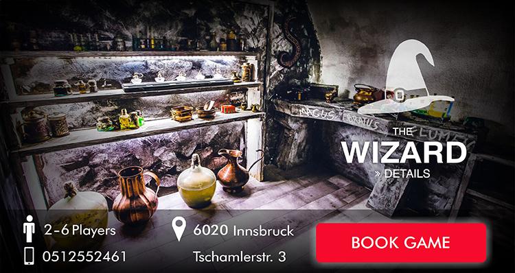 Escape Game Innsbruck: The Wizard