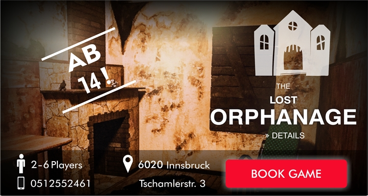 EscapeGame Innsbruck the lost orphanage