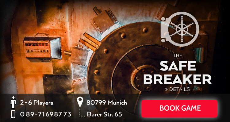Banner Escape Game the safe breaker