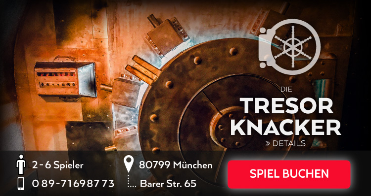 Banner Escape Room - Die Tresor Knacker