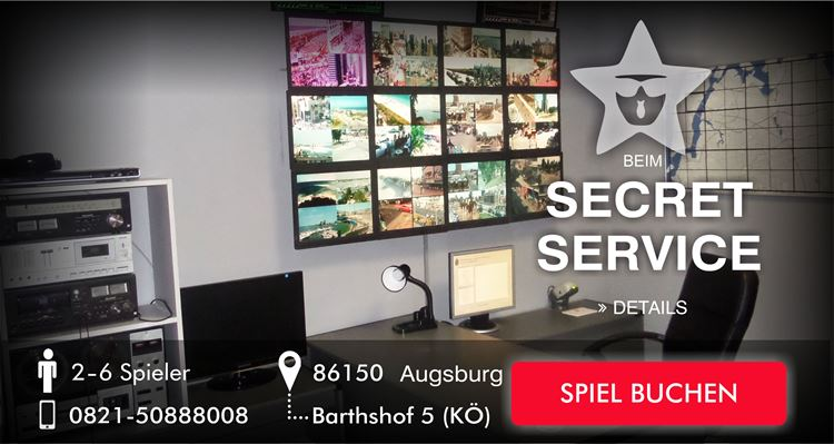 Escape Game - Beim Secret Service