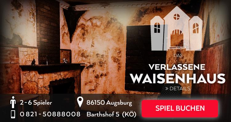 Das verlassene Waisenhaus Escape Game Augsburg