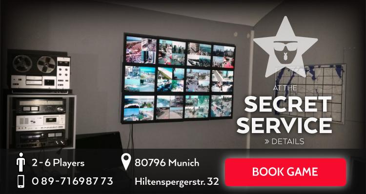 Live escape game munich can you escape for Secret escape games