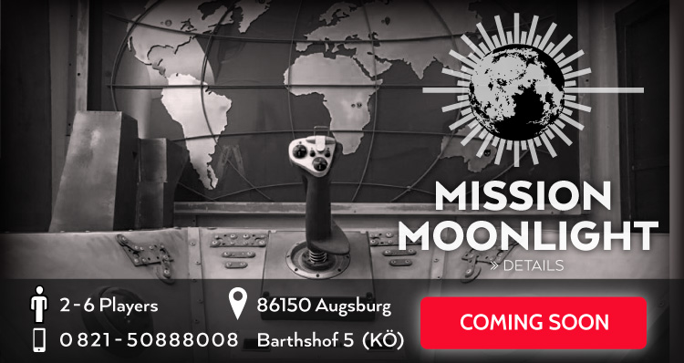 Escape Game Mission Moonlight Coming Soon