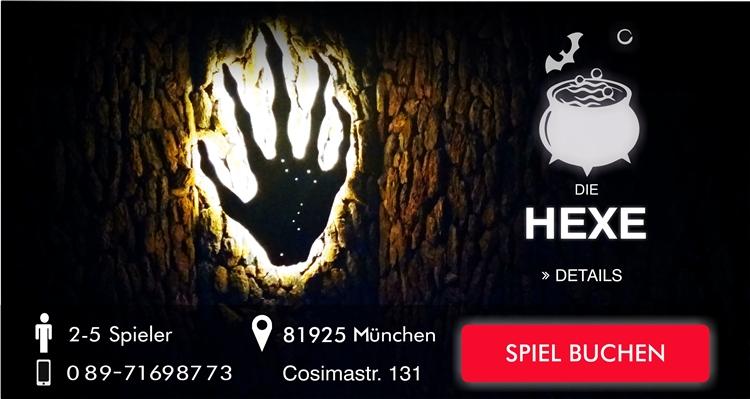 Die Hexe wütet im Escapegame München