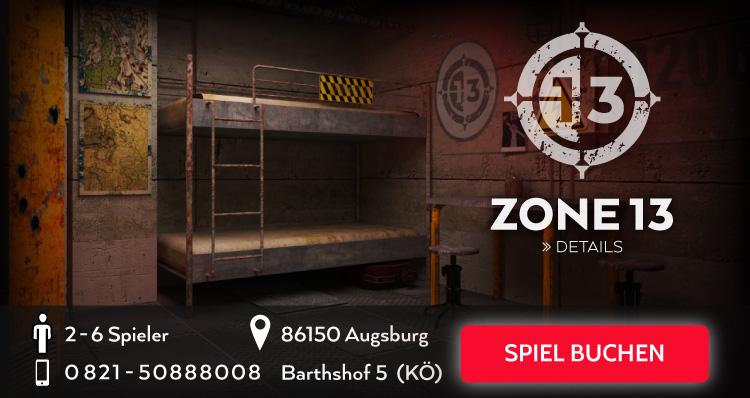 Zone 13 Escape Room Game