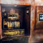 Zahlenkombination des Safes