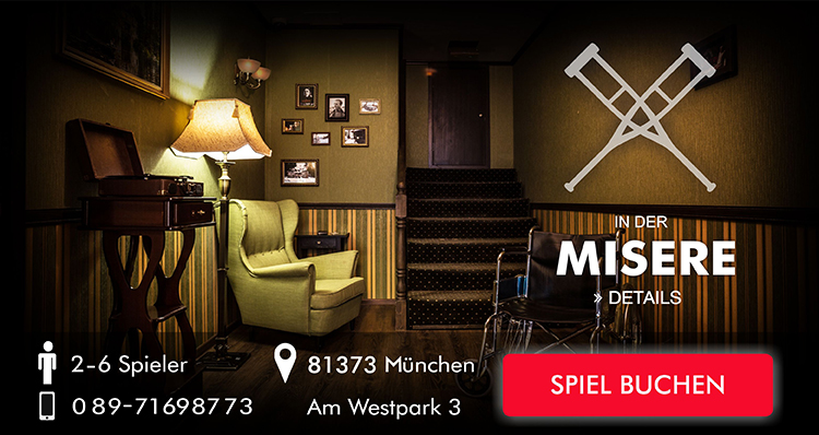 Exit the Room Game In der Misere und Mystery