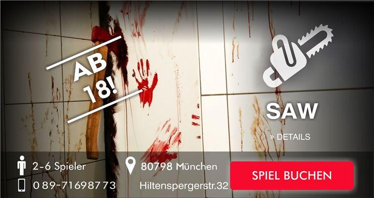 SAW bei Escapegame München