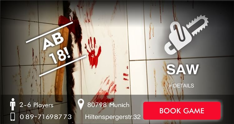SAW Escape Game Munich
