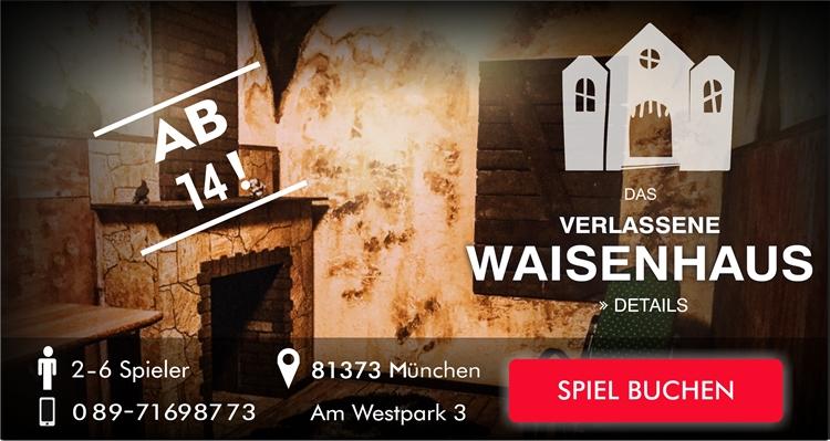 Das verlassene Waisenhaus Escapegame München