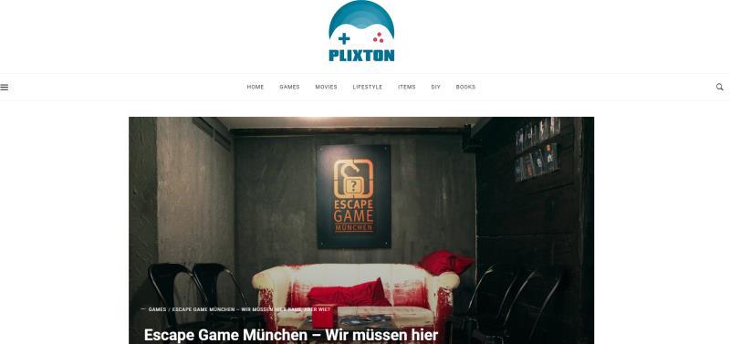 Plixton Referenz Escapegame