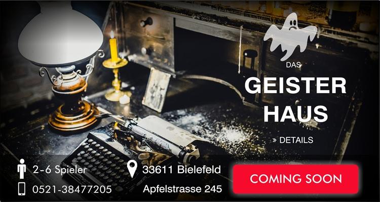 Escape Game Bielefeld Das Geisterhaus