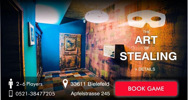 Escape Game Bielefeld The Art of Steeling