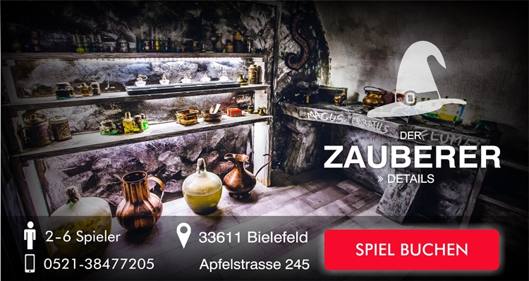 Escape Game Bielefeld Der Zauberer