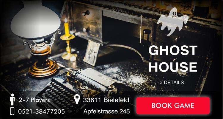 Escape Game Bielefeld Ghost House