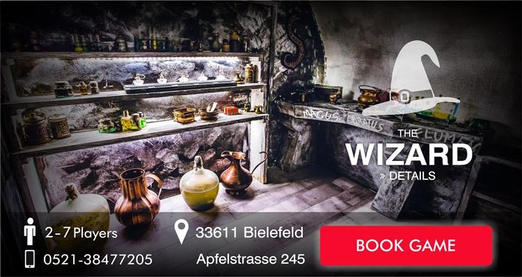 Escape Game Bielefeld The Wizzard