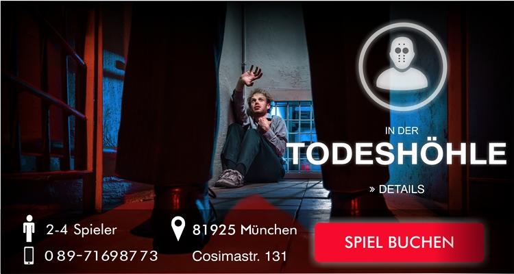 Escape Game München - In der Todeshöhle