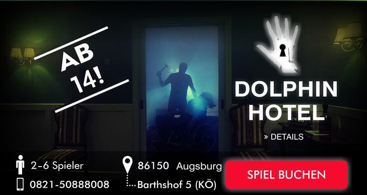 Escape Game Augsburg Dolphin Hotel