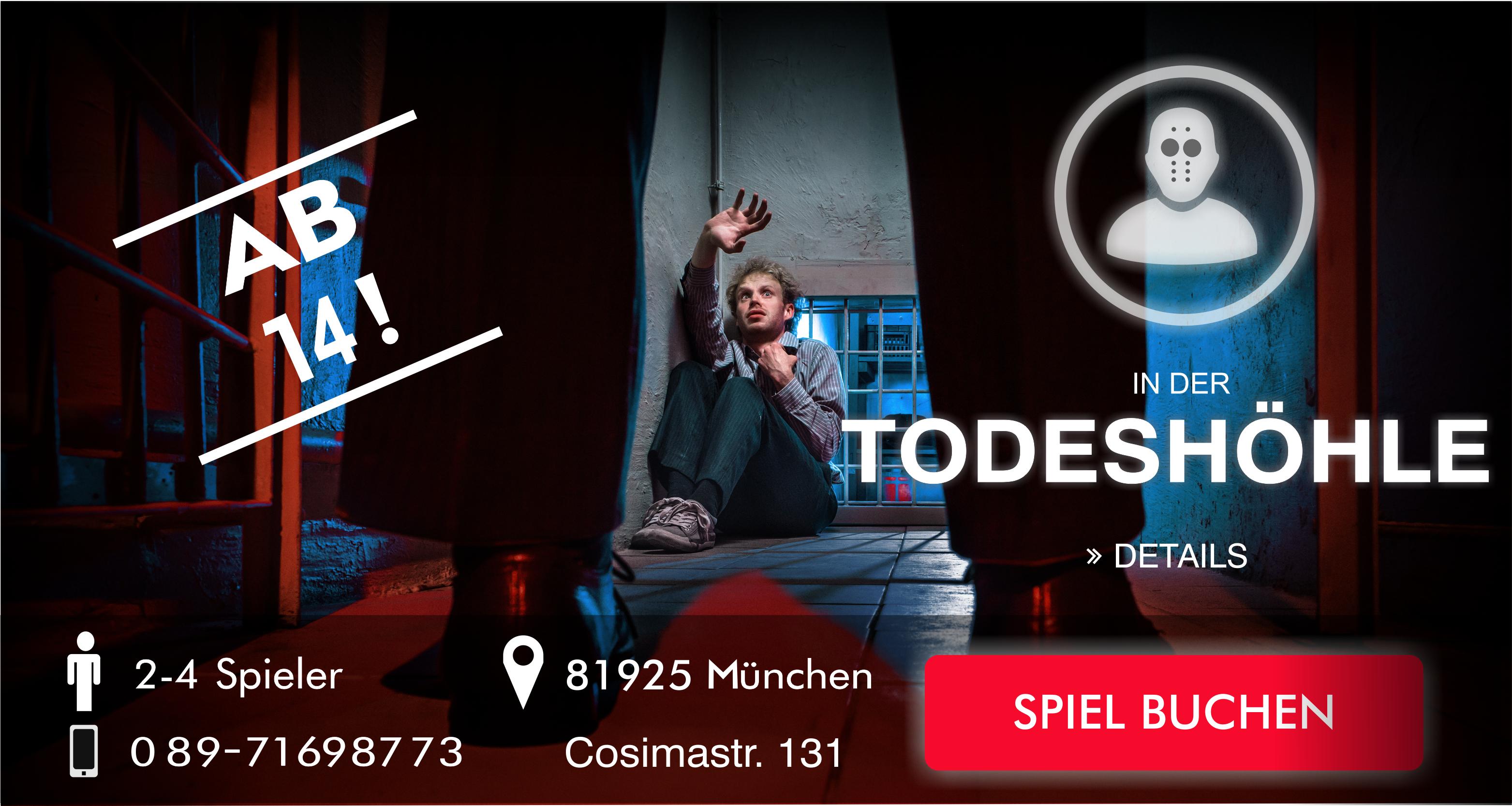 Escape Game München In der Todeshöhle