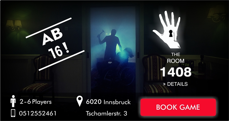 Escape Room Innsbruck - The revenge of tutanchamun