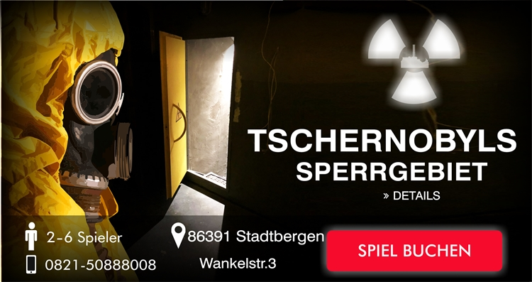 Escape Game Augsburg: Tschernobyl