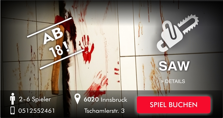 saw EscapeGame Innsbruck