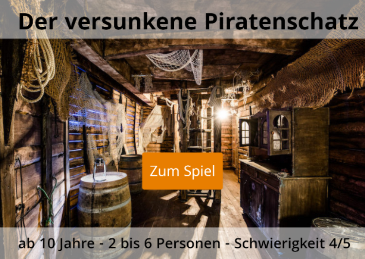 Piratenschatz Escape Game Kufstein