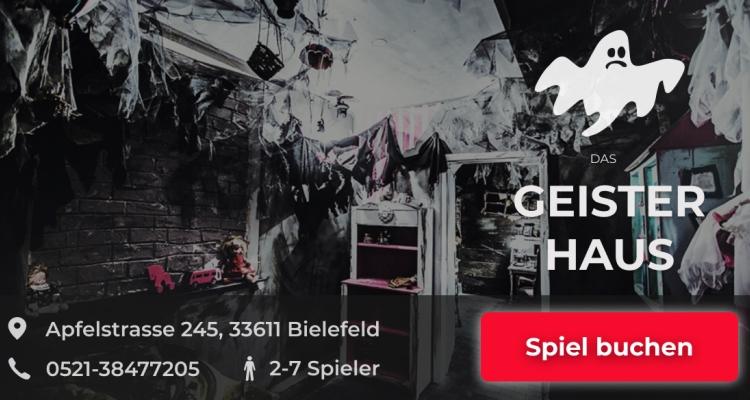 Das Geisterhaus Escape Game Bielefeld