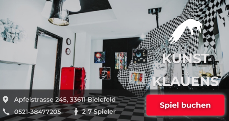 Die Kunst des Klauens Escapegame Bielefeld