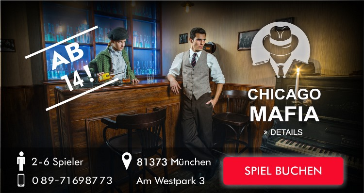 Chicago Mafia Escape Game München