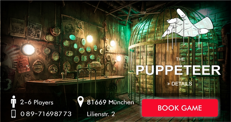 The Puppeteer escape game munich