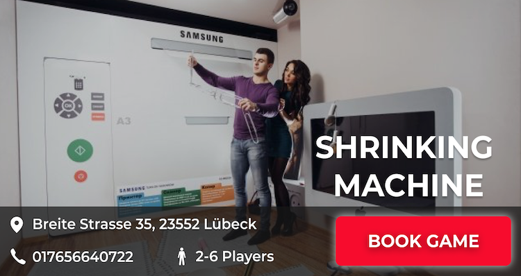 shrinking machine escape game luebeck